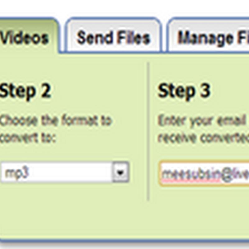 เวบไซต์ยอดนิยมแปลงไฟล์วีดีโอจาก Youtube เป็น MP3