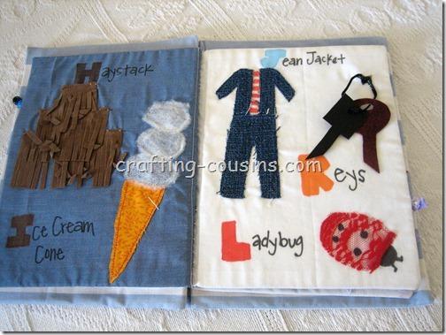 Textile Quiet Book (5)