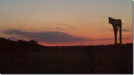 13 mile sb sunrise