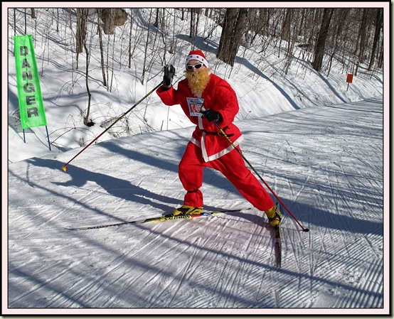 Santa on Penguin Hill - 19/2/12