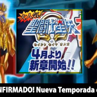 ¡CONFIRMADO! Saint Seiya Omega estrena Nueva Temporada