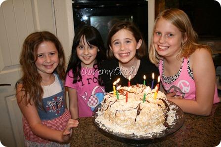 Samoa Birthday Cake