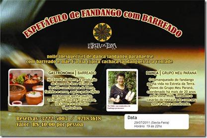 Estrela da Terra_Fandango com Barreado_flyer
