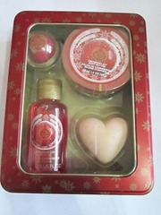 tbs cranberry gift box set, bitsandtreats