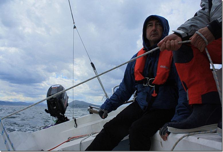 Navegando hacia Donosti