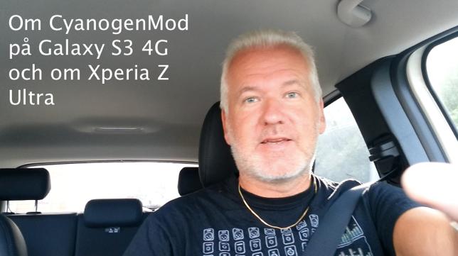 cyanogenmod och xperia z ultra