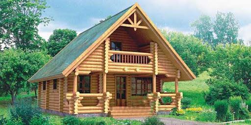Casas de madera construcciones de madera chalets de - Construcciones de casas de madera ...