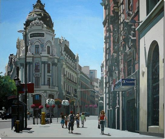 Luz en Madrid