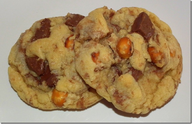 Nutella Chunk Pretzel Cookies 1-31-12