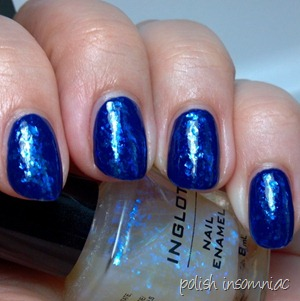 Barry M Indigo   Inglot 204 3