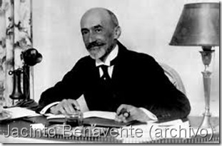 Jacinto Benavente (archivo)