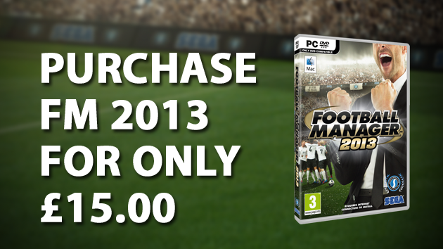 FM 2013 for only 25 pounds