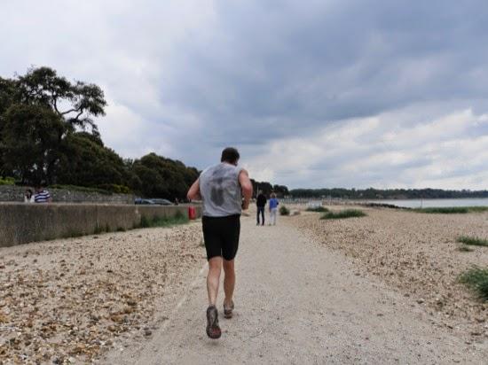 A run along the coast...
