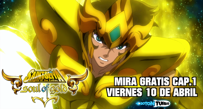 Ver GRATIS Saint Seiya Soul of Gold