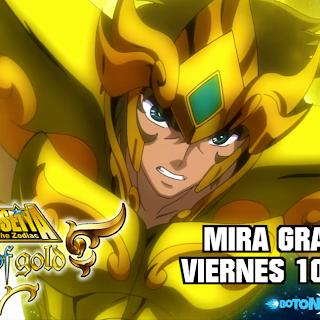 """Cómo ver GRATIS. LEGAL y en español """"SS Soul of Gold"""", lo nuevo de Los Caballeros del Zodiaco"""