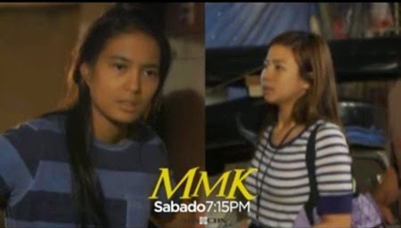 Isabelle Daza and Miles Ocampo in MMK