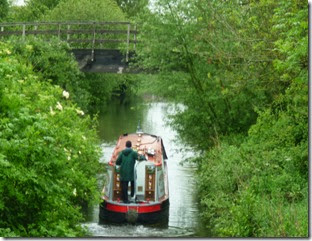 leaving Towney lock