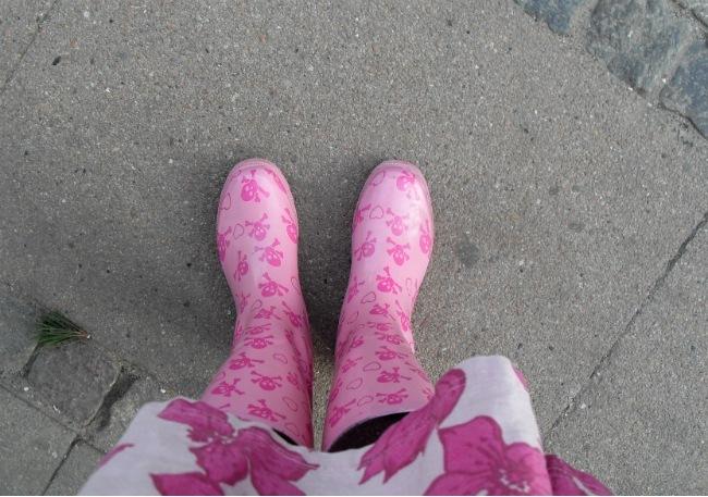 gummistøvler