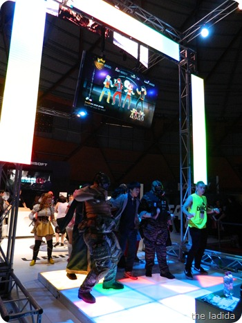 EB Games Expo 2012 - Just Dance 4
