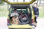 Dobra fura, sporo rowerów wchodzi :-)