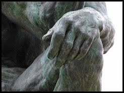 thinker hand