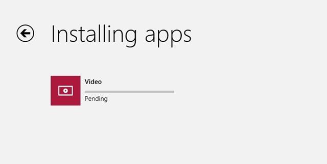 Videos app