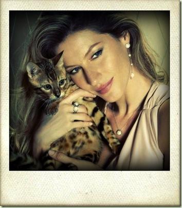 gisele bündchen cat_Lomoart_1