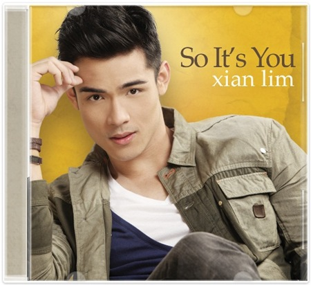 Xian Lim_So Its You album cover