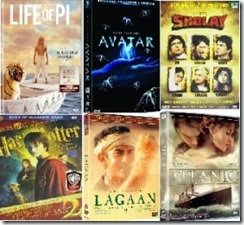 Amazon  offer: Buy Movies DVD starting at Rs 09