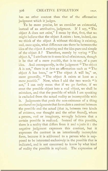Bergson. Creative Evolution. 1911 creativeevolutio00berguof.test.t_Page_320