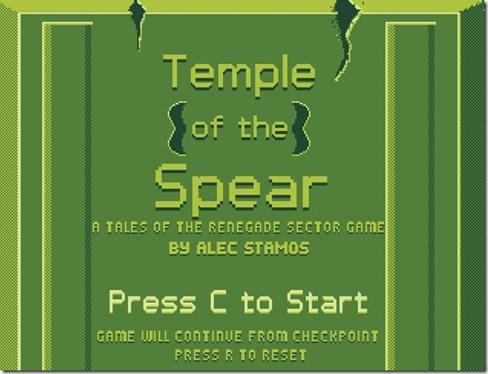temple of the spear free web game
