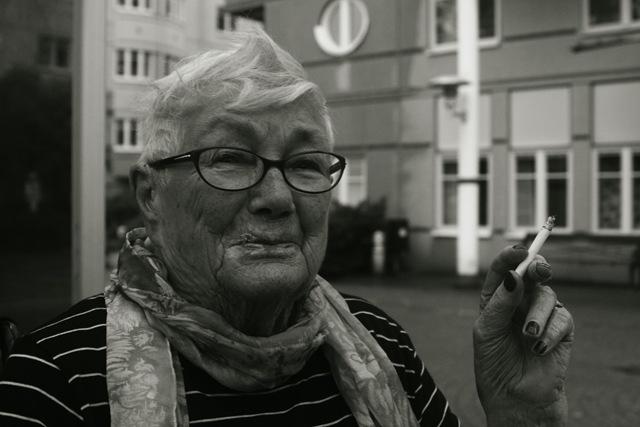 farmor röker