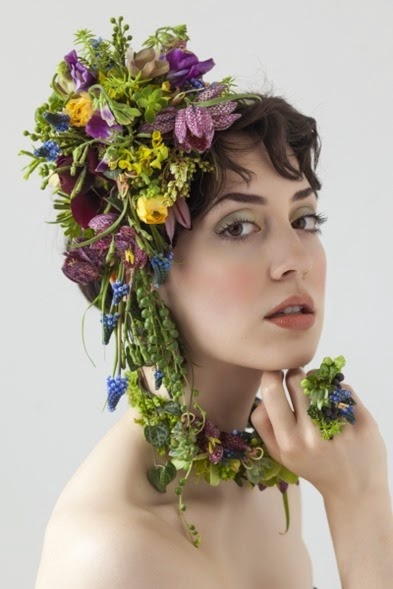 francoisetedmishima botanical-headpiece-and-jewelry-Françoise-Weeks