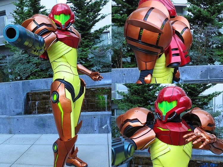 Metroid Samus Aran Cosplay by Talaaya