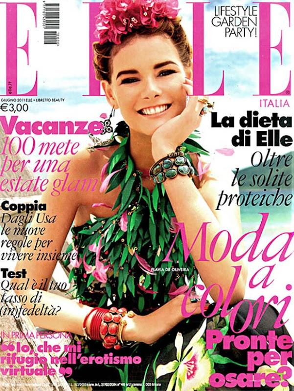 flaviacover Elle Italia June 2011