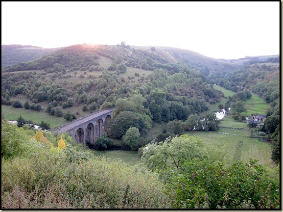 Monsal Viaduct at dusk