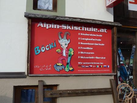 Schi Kaprun: cursuri de schi in romaneste in Austria