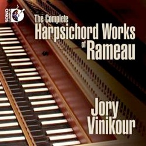 The Complete Harpsichord Works of Rameau - Jory Vinikour, harpsichord [Sono Luminus DSL-92154]