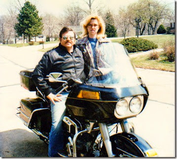 Sam&Donna1982Sam'sHarleyFLT