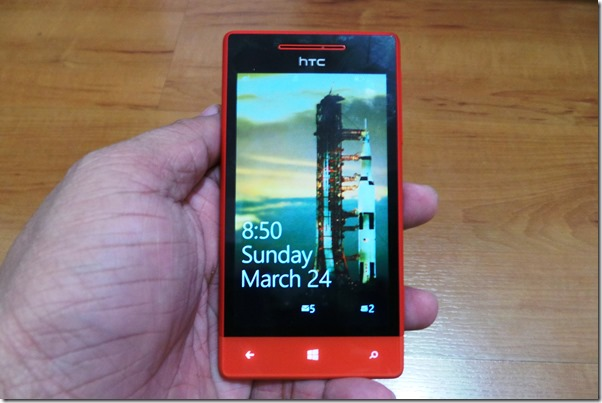 HTC 8S on Hand - Adobotech