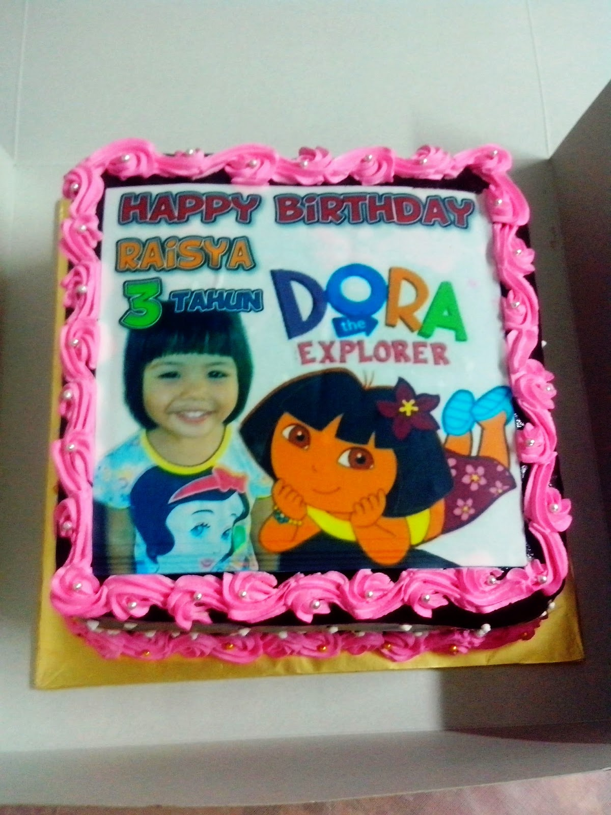 Dora The Explorer Edible Cake Images