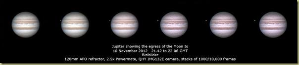 10 November 2012 Jupiter