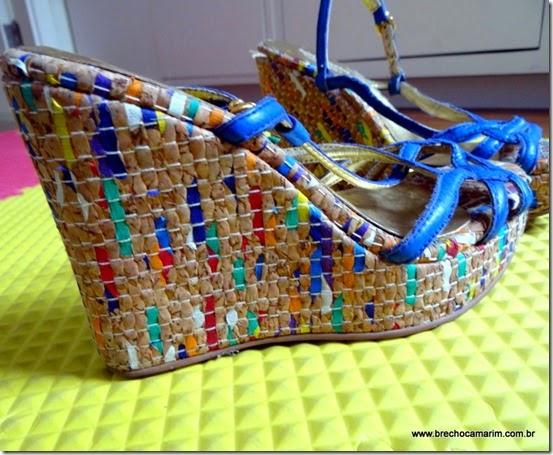 sandália luiza barcelos no Camarim