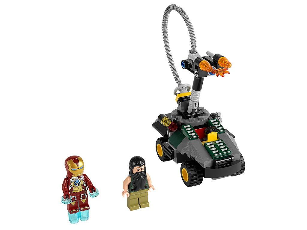 LEGO  FIGURINE IRON MAN  DU SET 76108 NEUVE