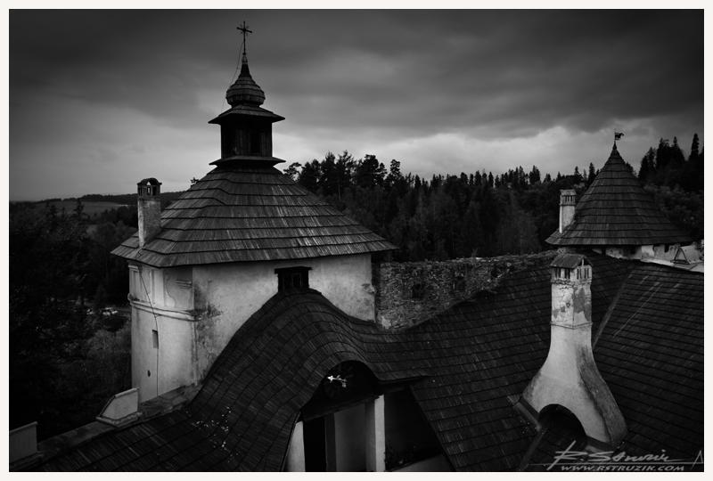 Zamek w Łancucie.