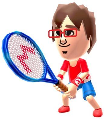 tennis mii