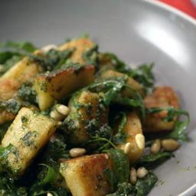Pan-fried Mascarpone Gnocchi With Dreamy Basil Pesto