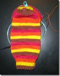 Grade School Turkey Sock 2