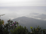 View east from the summit of Gunung Besar (Daniel Quinn, October 2011)