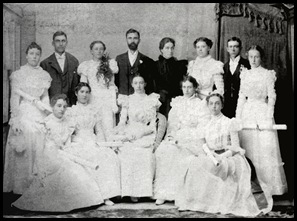 graduating class 1898